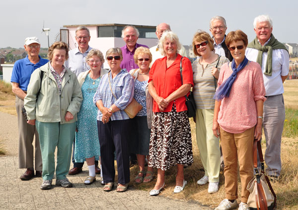 Our visit to Blyth Battery in July 2013